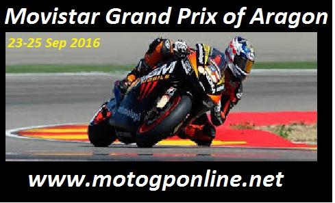 2016 MotoGP Aragon Grand Prix Live Online