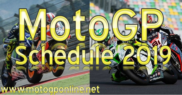 MotoGP 2019 Schedule