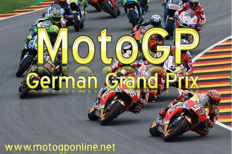 MotoGP Germany Grand Prix Live Stream