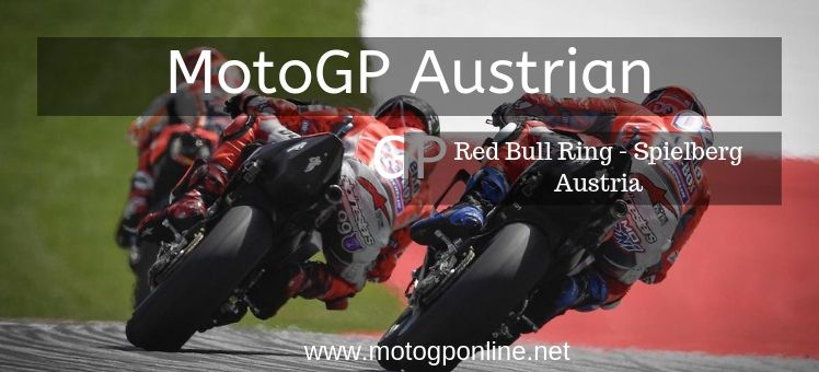Austrian GP Live Stream Moto Grand Prix