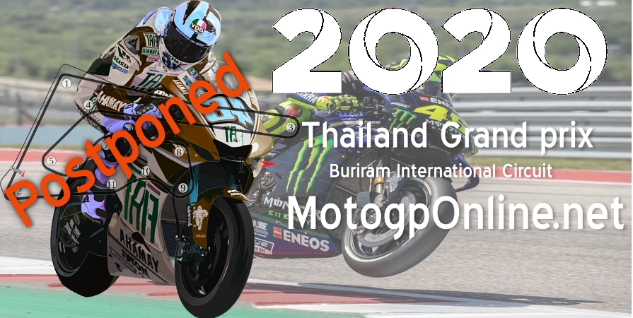 Thailand MotoGP 2020 Postponed due to Coronavirus