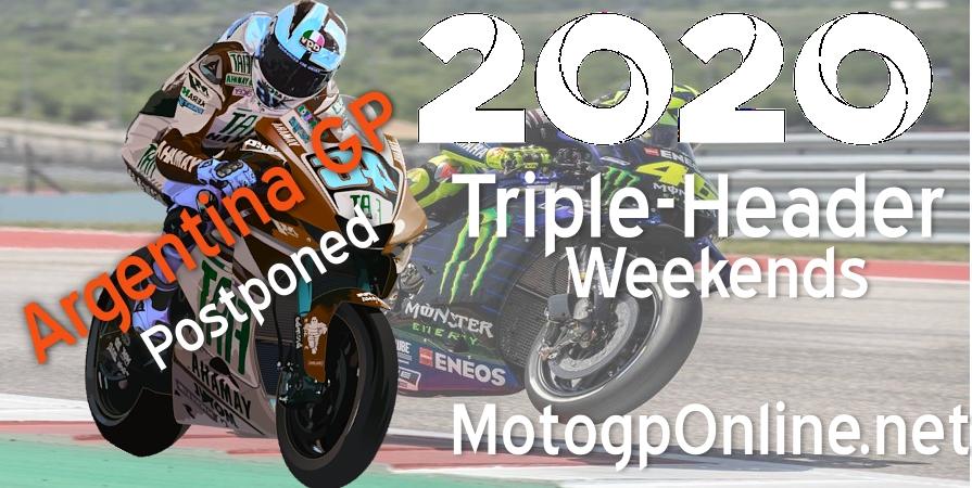 MotoGP Argentina 2020 Race Postponed