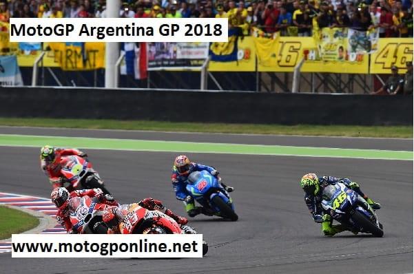 Argentina Motorcycle Grand Prix 2018 Live Stream