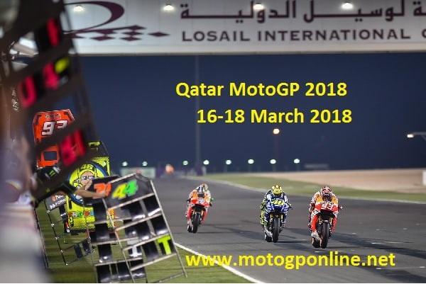 Live Qatar MotoGP 2018 Online
