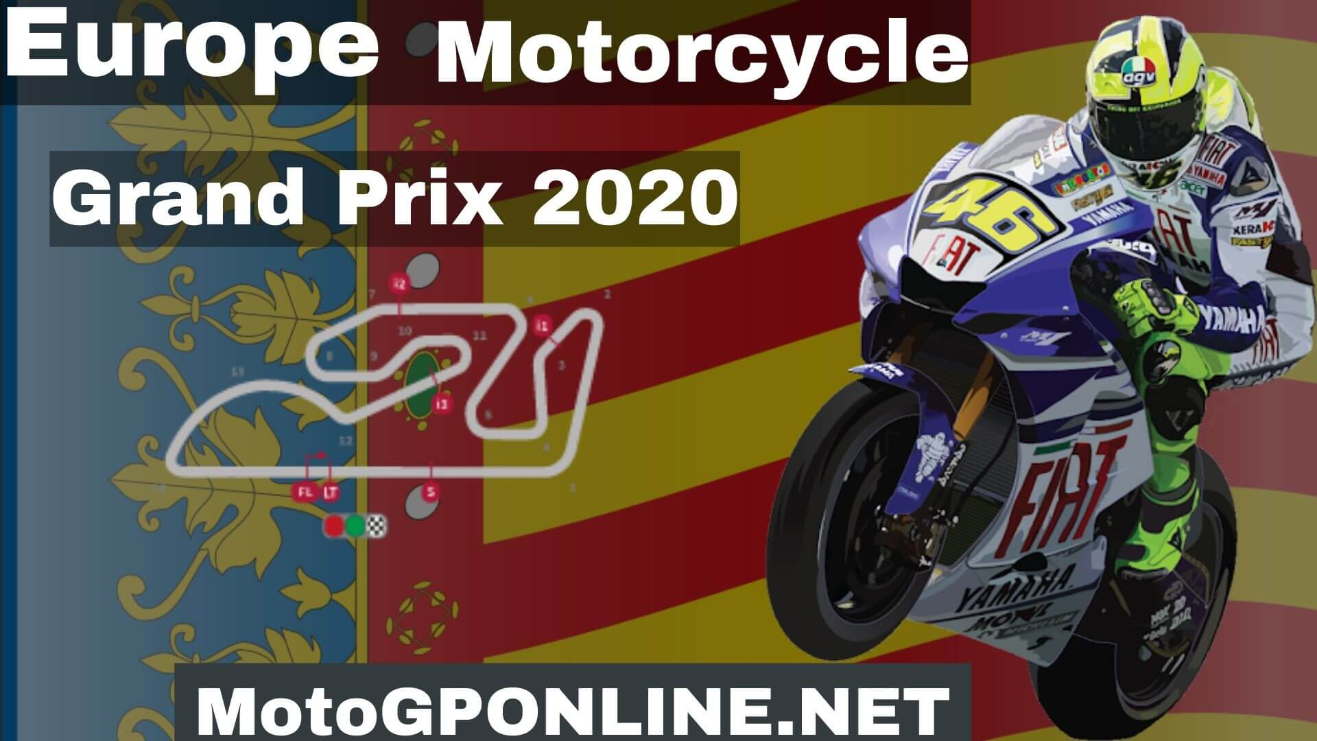 Europe GP Moto2 Live Stream 2020 | Warm Up