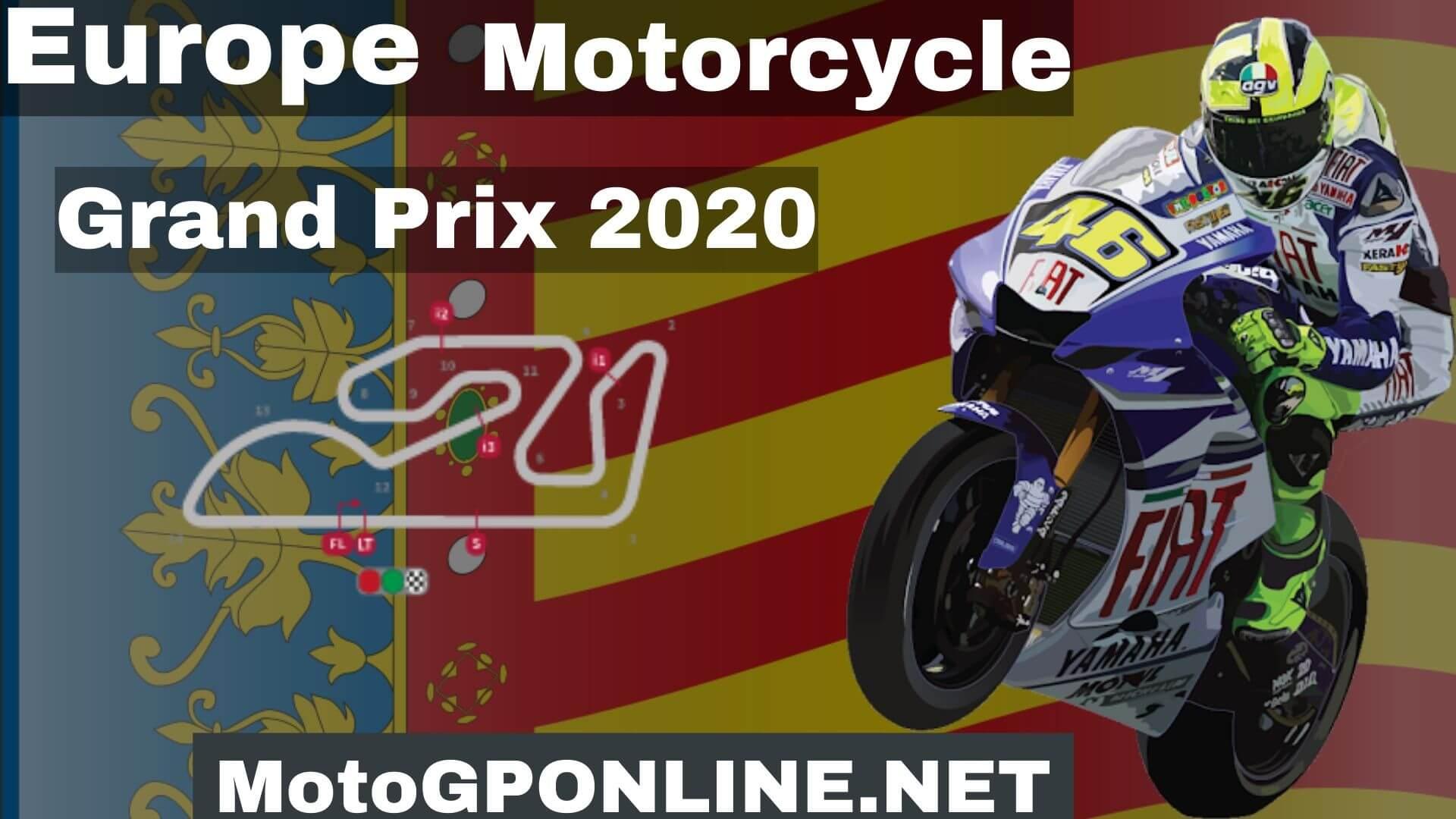 Europe GP Moto3 Live Stream 2020 | Warm Up