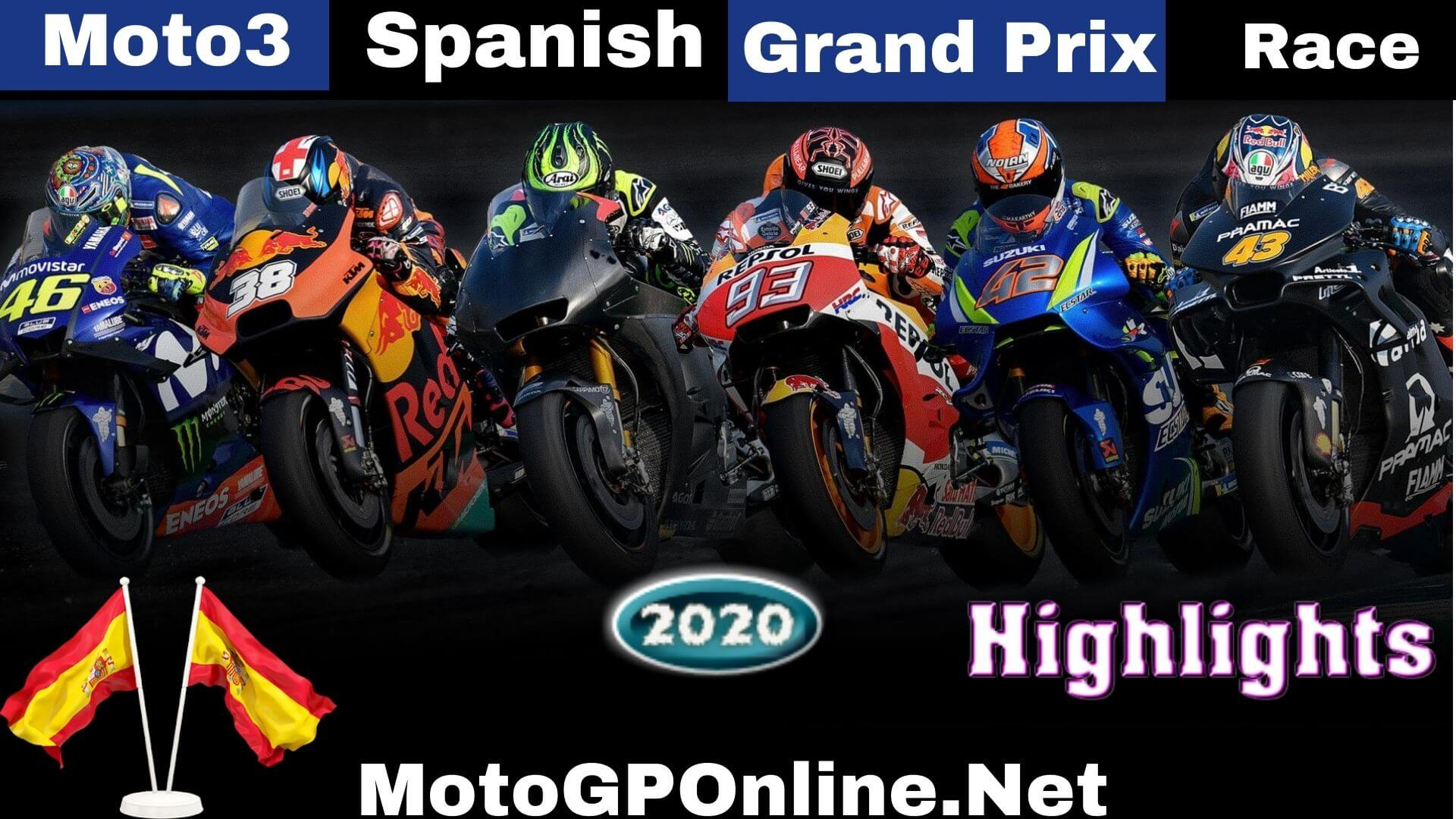Moto3 Spanish Grand Prix Highlights 2020 Race