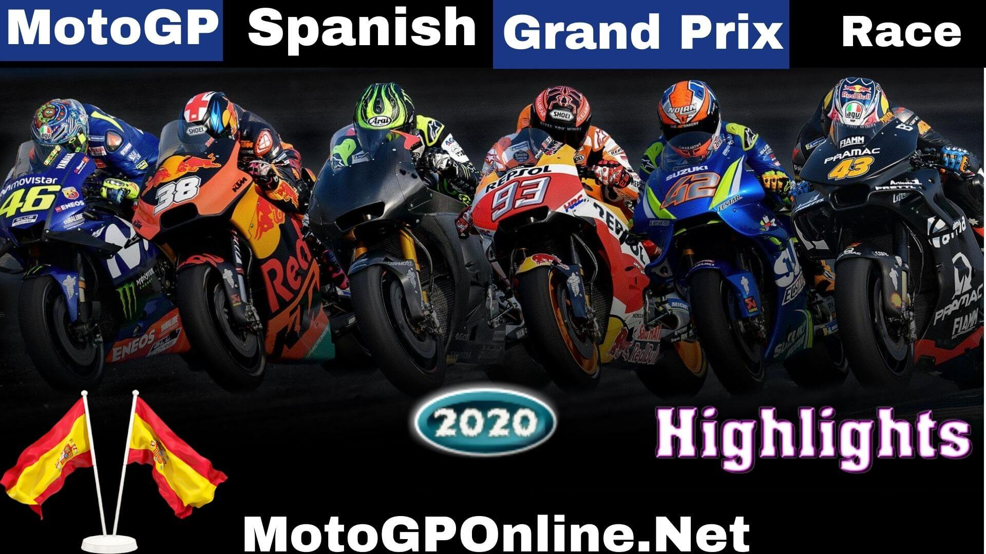 MotoGP Spanish Grand Prix Highlights 2020 Race