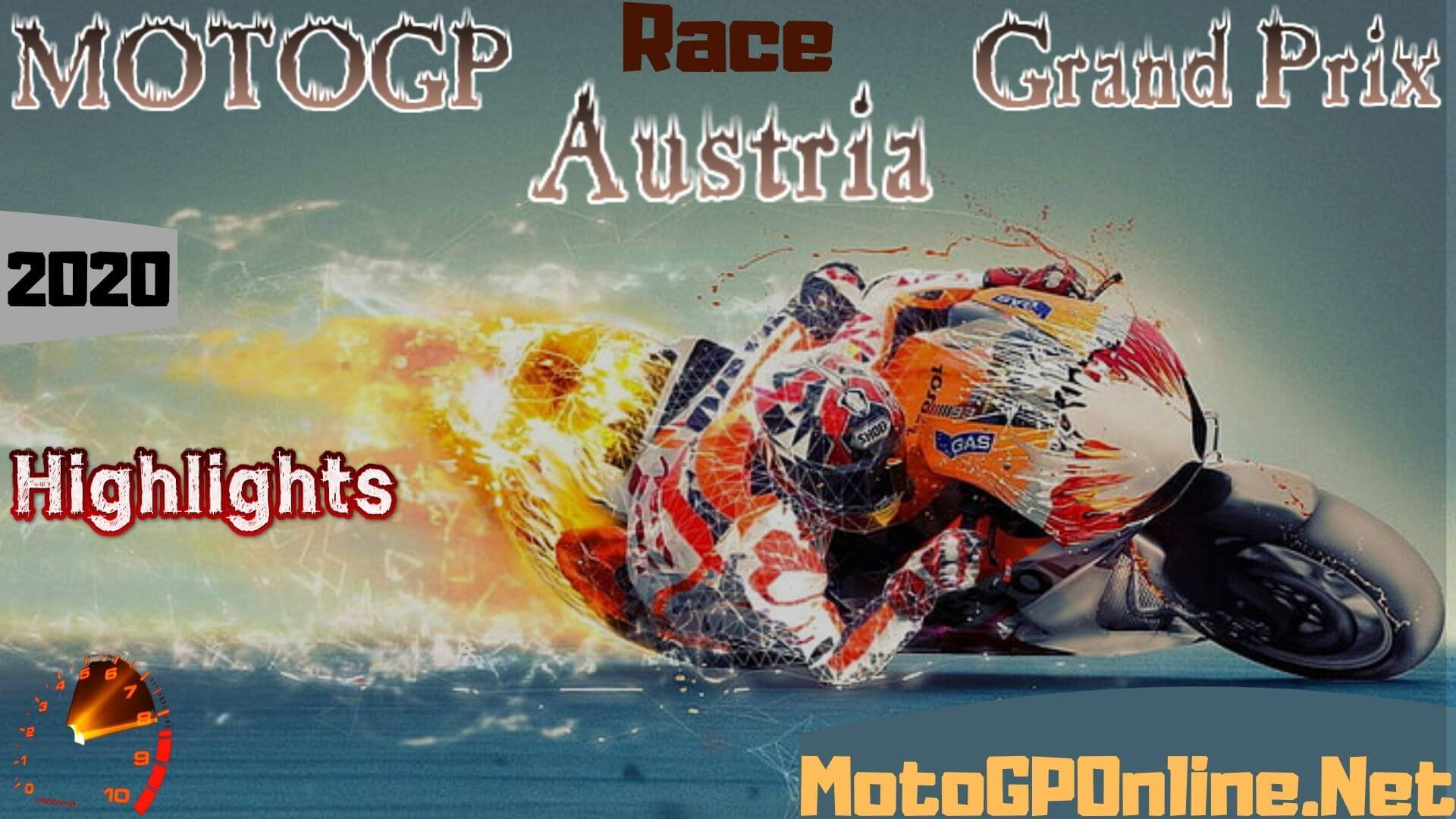 MOTOGP Austria Grand Prix Highlights 2020 Race