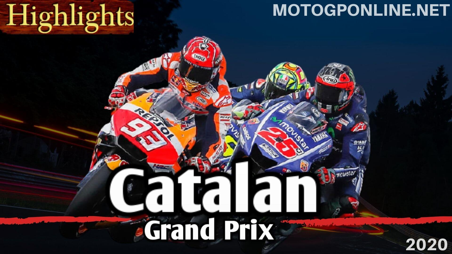 MotoGP Catalunya Grand Prix Highlights 2020
