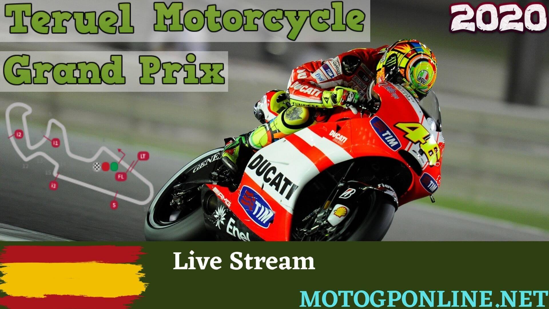Teruel GP Moto3 Live Stream 2020 | Practice 1