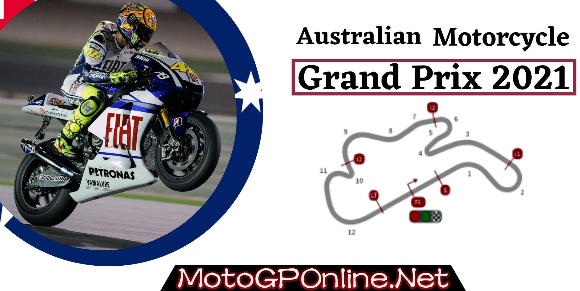 Australian Grand Prix Live Stream MotoGP 2021 | Full Race Replay