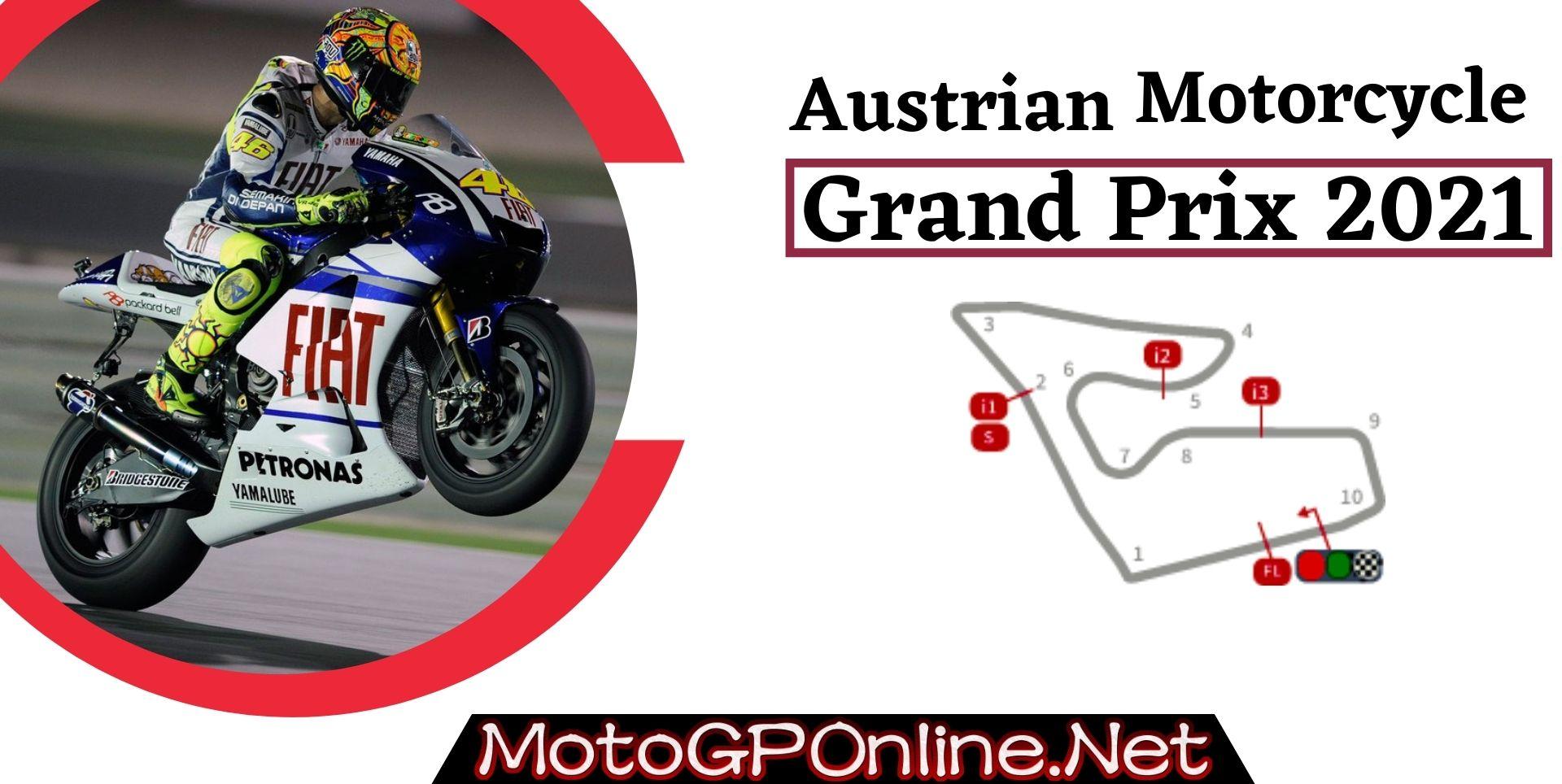 Austrian Grand Prix Live Stream MotoGP 2021 | Full Race Replay