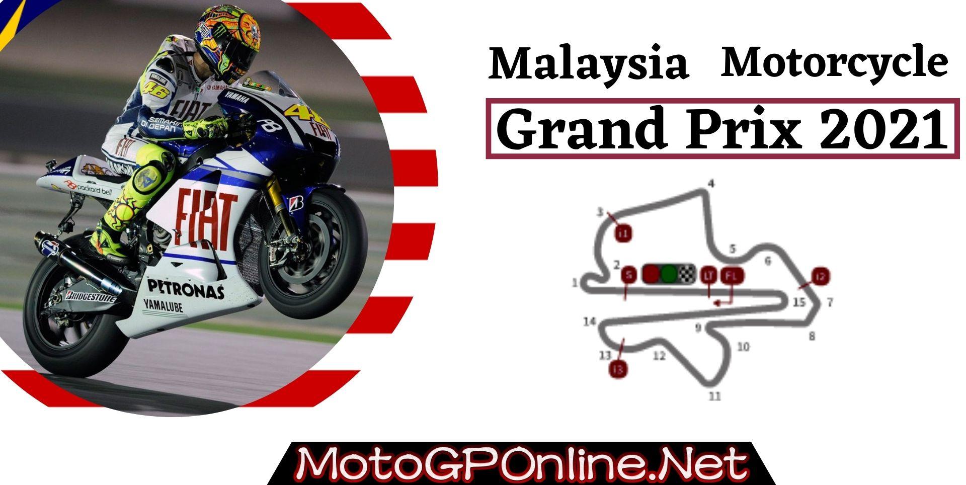 Malaysia Grand Prix Live Stream MotoGP 2021 | Full Race Replay