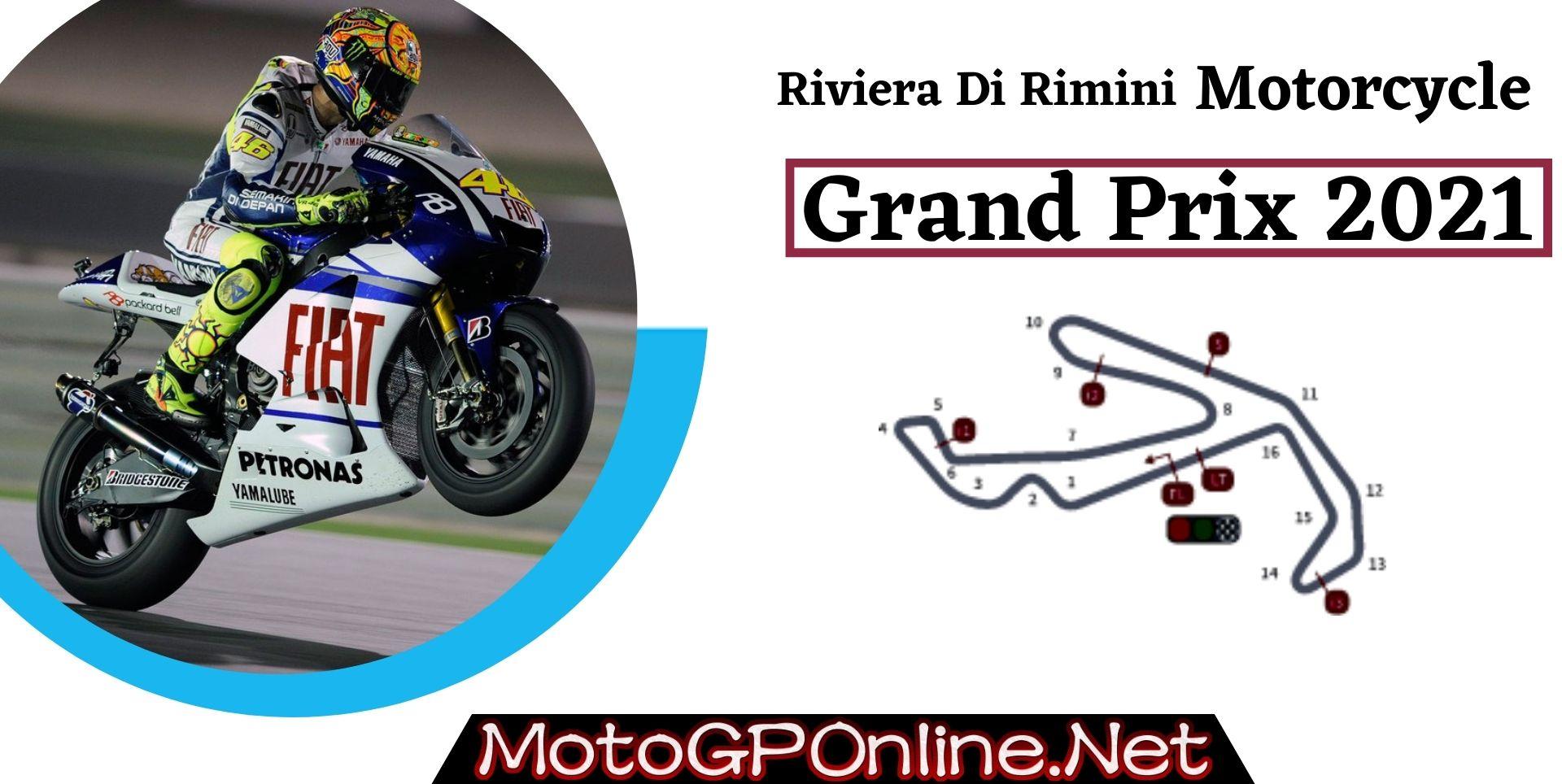 Riviera Di Rimini Grand Prix Live MotoGP 2021 | Full Race Replay
