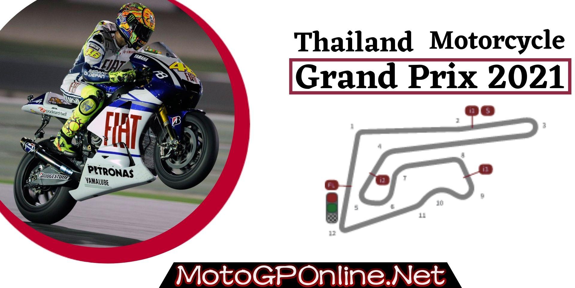 Thailand Grand Prix Live Stream MotoGP 2021 | Full Race Replay