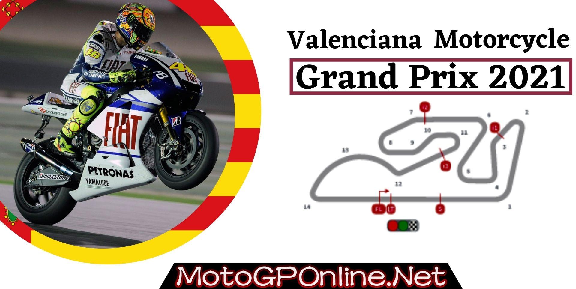 Valenciana Grand Prix Live Stream MotoGP 2021 | Full Race Replay