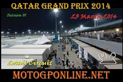 Live Qatar Grand Prix 2014 Online