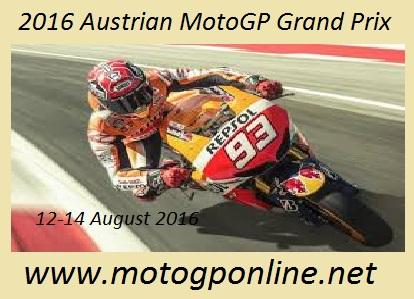 2016 Austrian MotoGP Grand Prix