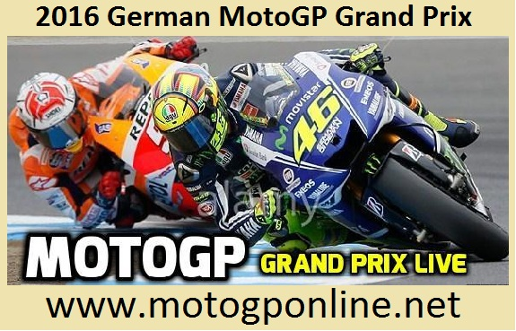 2016 German MotoGP Grand Prix streaming