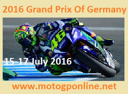 2016 German motorcycle Grand Prix live