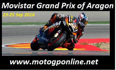 Movistar Grand Prix of Aragon live stream