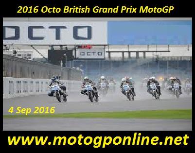 2016 Octo British Grand Prix MotoGP