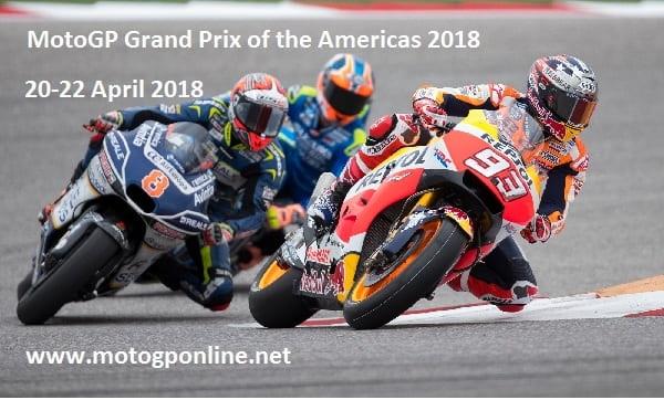 2018 MotoGP Grand Prix of the Americas Live