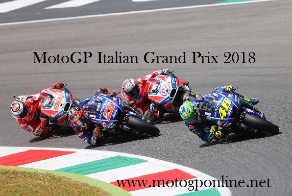 2018 MotoGP Italian Grand Prix Live Stream