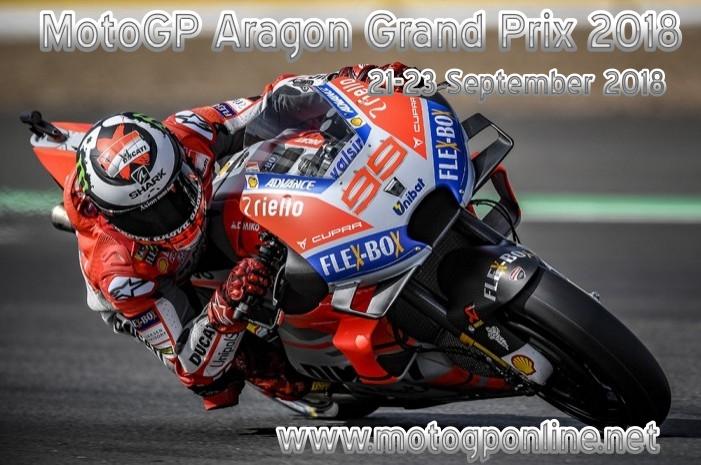 Aragon MotoGP 2018 Live Stream