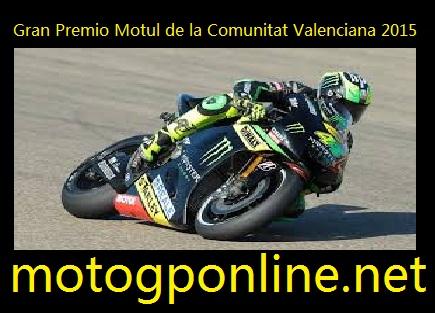 Live Gran Premio Motul de la Comunitat Valenciana 2015