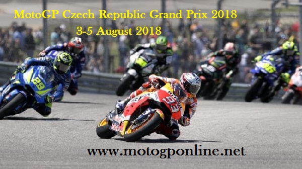 MotoGP Czech Republic Grand Prix 2018 Live Stream