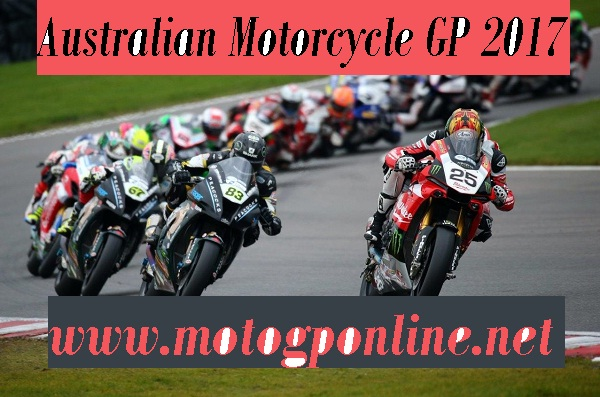 australian motorcycle gp 2017