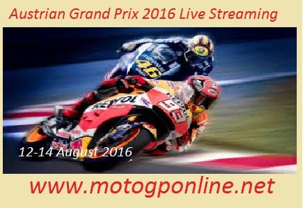 Austrian Grand Prix 2016 live