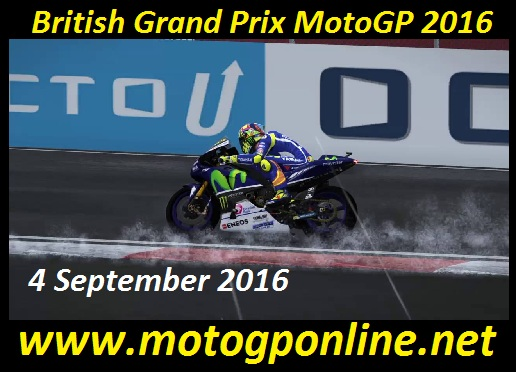 British Grand Prix MotoGP