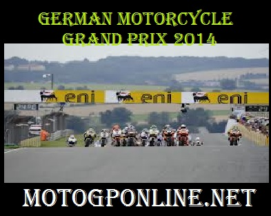 German motorcycle Grand Prix 2014