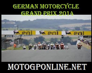 German motorcycle Grand Prix 2014
