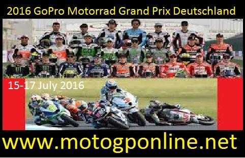GoPro Motorrad Grand Prix Deutschland live