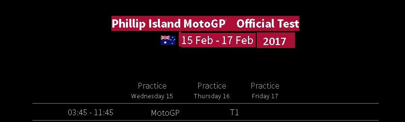Phillip Island MotoGP live