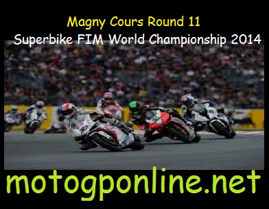 Magny Cours Round 11 Superbike FIM World Championship 2014