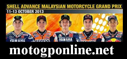 Malaysian Motorcycle Grand Prix 2013