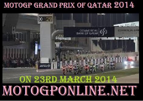 Qatar Grand Prix 2014 live