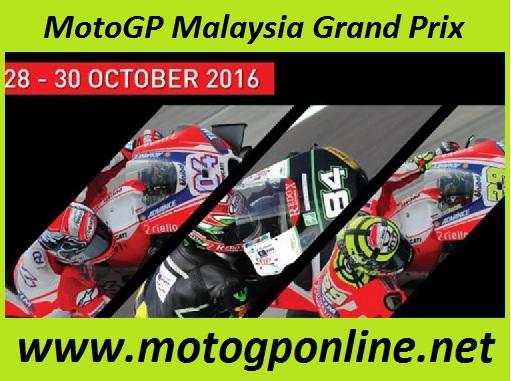 MotoGP Malaysia Grand Prix live