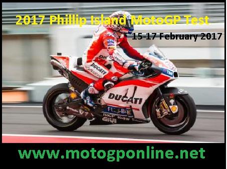 Phillip Island MotoGP Test live