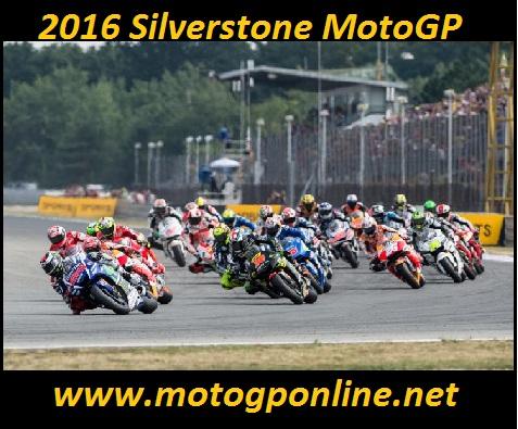 2016 Silverstone MotoGP
