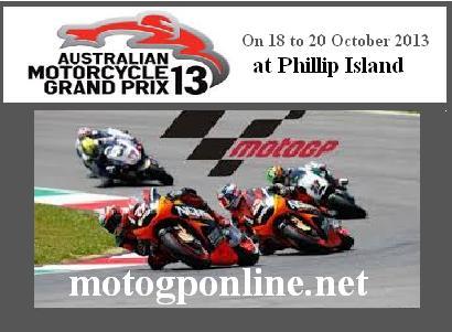 Tissot Australian Grand Prix 2013