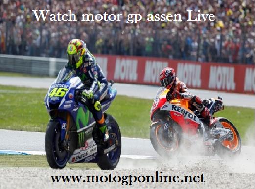 Motul TT Assen Grand Prix Live