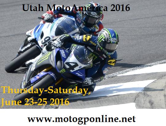 Utah MotoAmerica Superbike Live