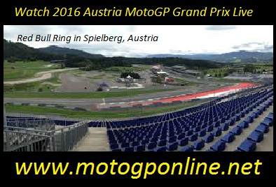 Grand Prix Austria 2016 live coverage