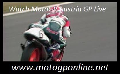 Watch MotoGP Austria GP Live